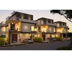 Luxury Villas for Sale at Gachibowli in Hyderabad.