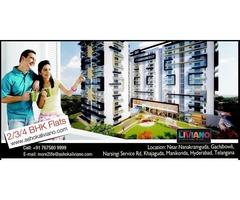 4 BHK Flats for Sale in Nanakramguda, Hyderabad, Telangana